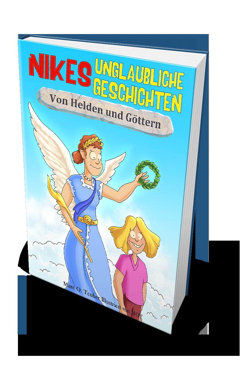 Abenteuerbuch für Kinder - Nike Kinderbuchreihe